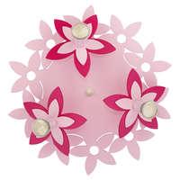 Детская Люстра FLOWERS  PINK III plafon