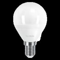 светодиодная LED ЛАМПА GLOBAL G45 F 5W МЯГКИЙ СВЕТ 220V E14 AP (1-GBL-143) (NEW) (от MAXUS NEW)