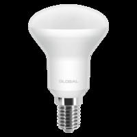 светодиодная LED лампа GLOBAL R50 5W мягкий свет 220V E14 от MAXUS (1-GBL-153) (NEW)
