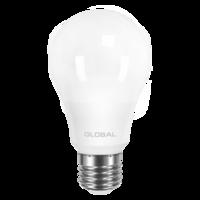 светодиодная LED лампа GLOBAL A60 8W яркий свет 220V E27 AL (1-GBL-162)(от MAXUS NEW)