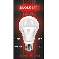 LED ЛАМПА 10W МЯГКИЙ СВЕТ А60 Е27 220V (1-LED-287)
