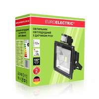 Премиум LED прожектор 20 Вт. с датчиком движения EUROELECTRIC LED COB от EUROLAMP LED-FL-20(sensor)