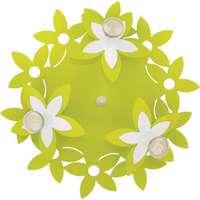Детская Люстра FLOWERS  GREEN III plafon