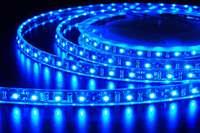 Дюралайт-лента 120LED IP68 синяя 2835SMD 230V 10W/м 720LM