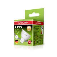 Светодиодная диммируемая лампа EUROLAMP LED Лампа ЕКО dimmable MR16 5W GU5.3 4000K LED-SMD-05534(E)dim