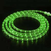 Дюралайт-лента 60LED IP68 зелёная 2835SMD 230V 5W/м 360LM