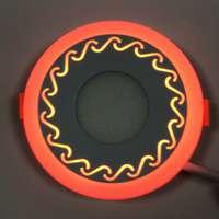 "LED панель ""Завитки"" 18+3W с подсветкой 1440Lm 4500K"