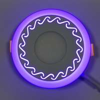 "LED панель ""Завитки"" 6+3W с подсветкой 540Lm 4500K"