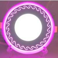 "LED панель ""Завитки"" 12+3W с подсветкой 1080Lm 4500K"