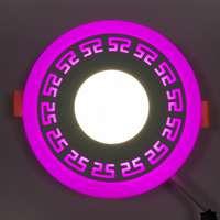 "LED панель ""Грек"" 18+3W с подсветкой 1440Lm 4500K"