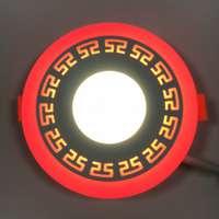 "LED панель ""Грек"" 6+3W с подсветкой 540Lm 4500K"