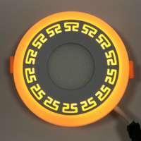 "LED панель ""Грек"" 12+3W с подсветкой 1080Lm 4500K"