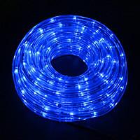 Дюралайт-лента 60LED IP68 синяя 2835SMD 230V 5W/м 360LM
