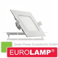 Врезной светодиодный светильник EUROLAMP 6 Вт. (квадрат)