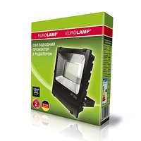 Прожектор черный с радиатором NEW 150W 6500K EUROELECTRIC LED SMD