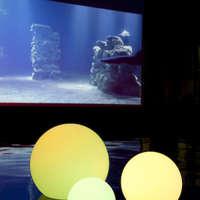 Ландшафтный светодиодный светильник Ball 25 для подсветки газонов, озер.