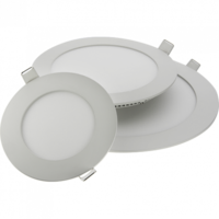 Светодиодный врезной светильник Downlight  SKYLIGHT R (круг) 12 Вт.