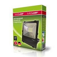 Прожектор черный с радиатором NEW 100W 6500K EUROELECTRIC LED SMD