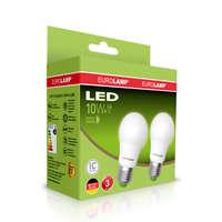 Комплект из 2-х  светодиодных ламп 3000К EUROLAMP MLP-LED 10W по супер цене MLP-LED-A60-10272(E)