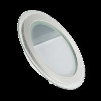 Светодиодный  круглый стекло Downlight 6W 4000K (30) EUROLAMP