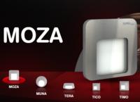 Светодиодный светильник врезной 14V для лестниц и подиумов MOZA от ZAMEL